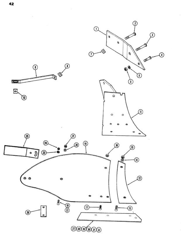farmall cultivator parts diagram